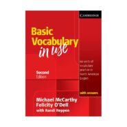 Basic Vocabulary in Use Second Edition | آیلتس تافل اپلای مهاجرت