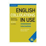 English Collocations in Use Intermediate 2nd خرید کتاب زبان | آیلتس تافل اپلای مهاجرت